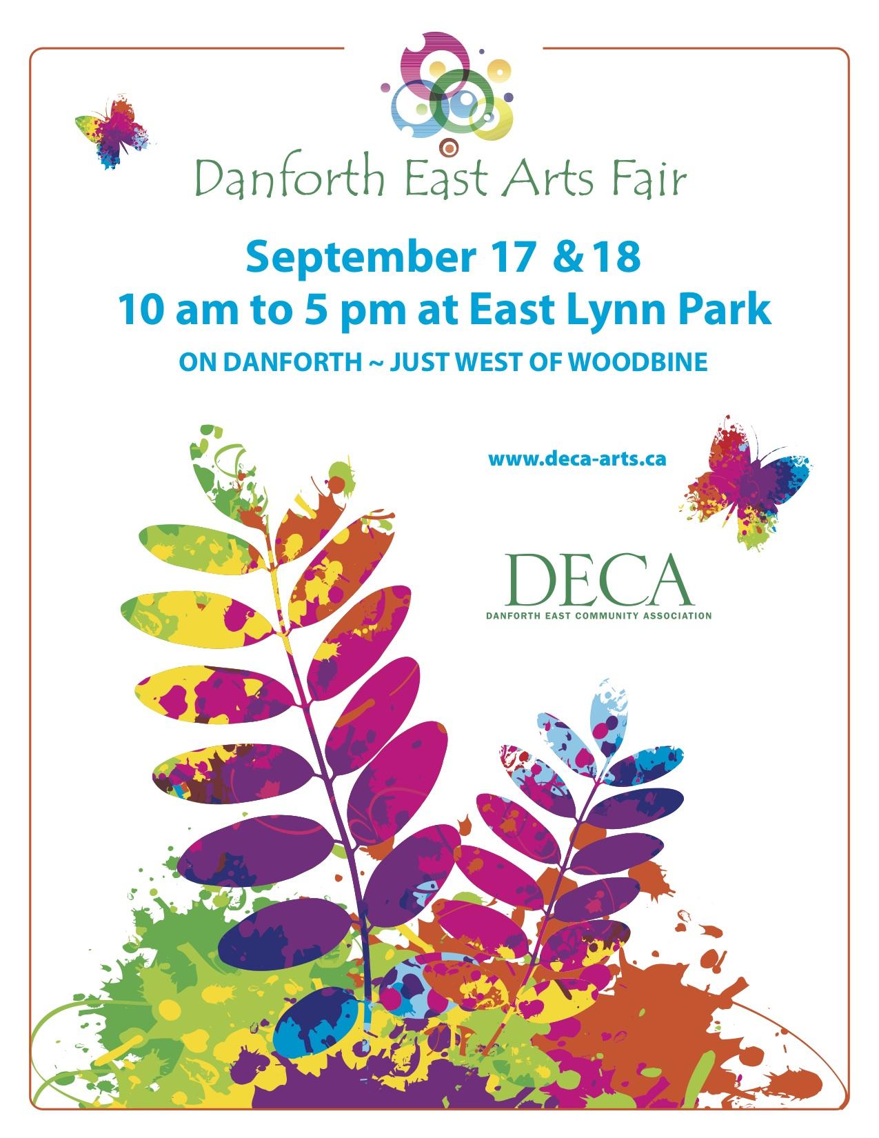 Danforth East Arts Fair Poster