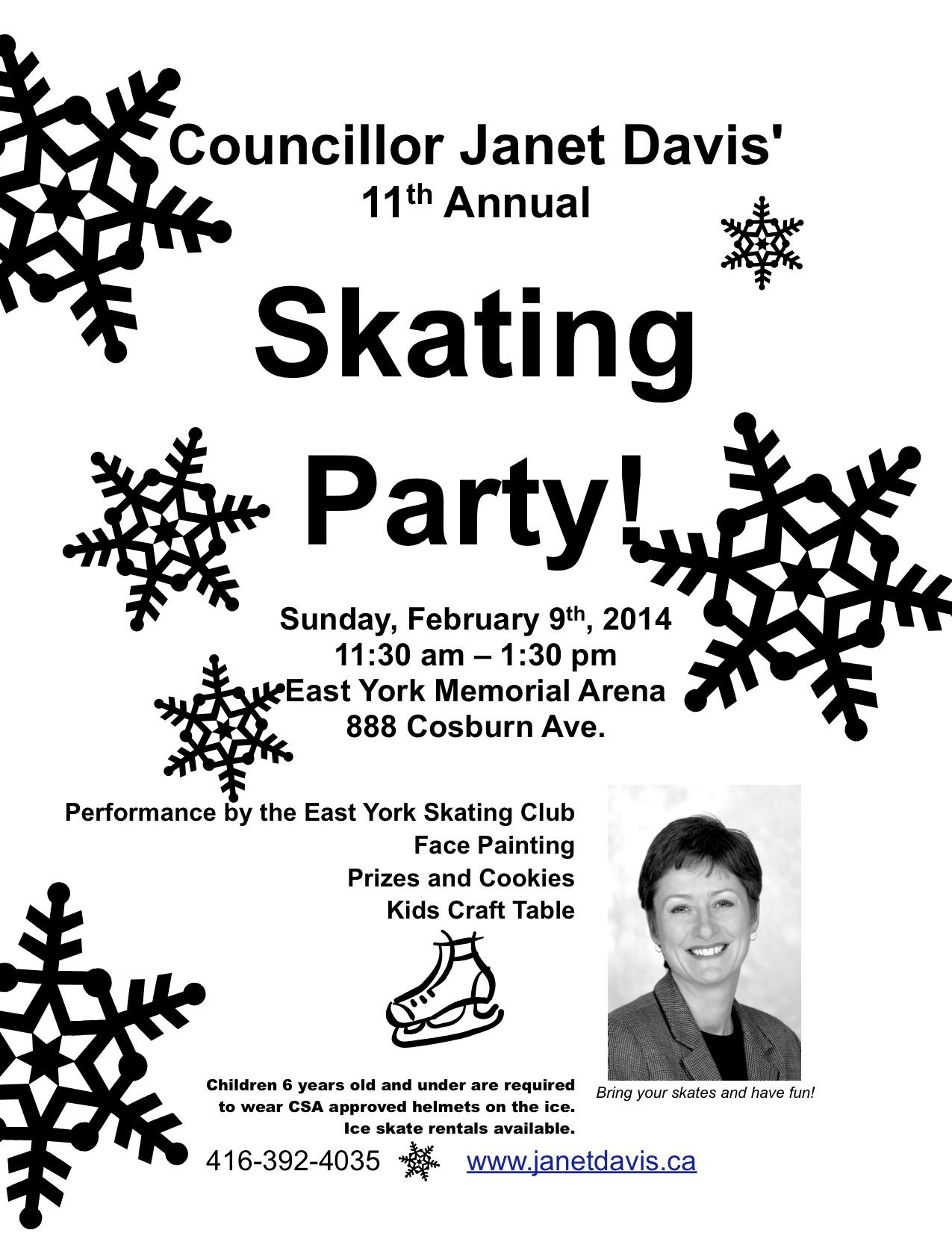 Councillor-Davis-Skating-Party-Flyer-2014