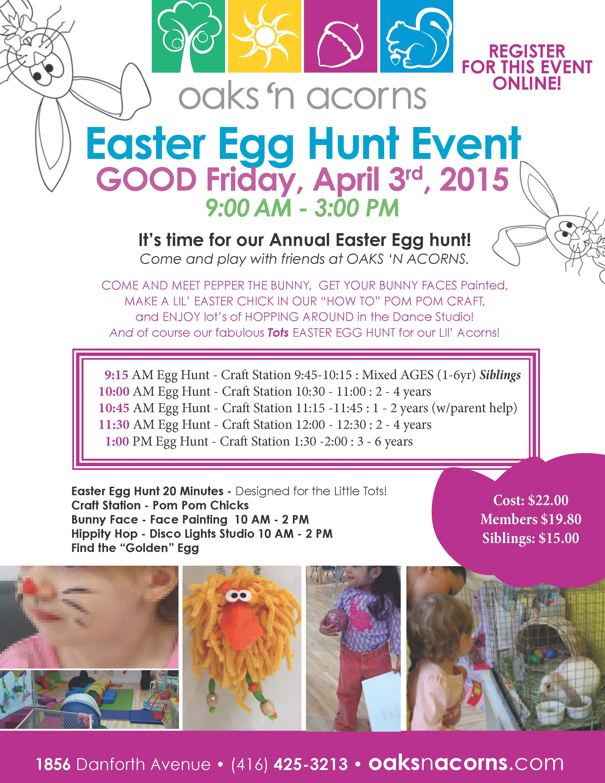 2015 GoodFriday Easter Event