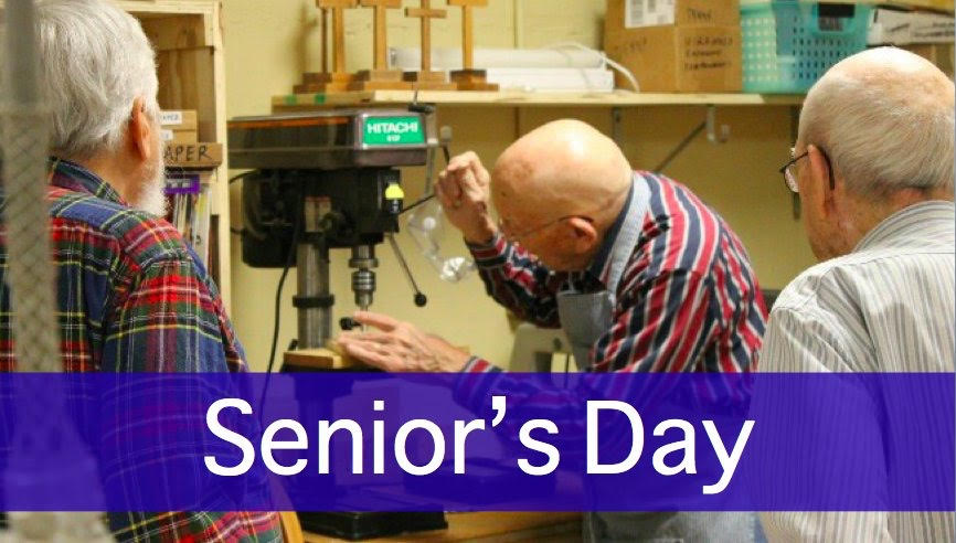Tool Library Seniors Day