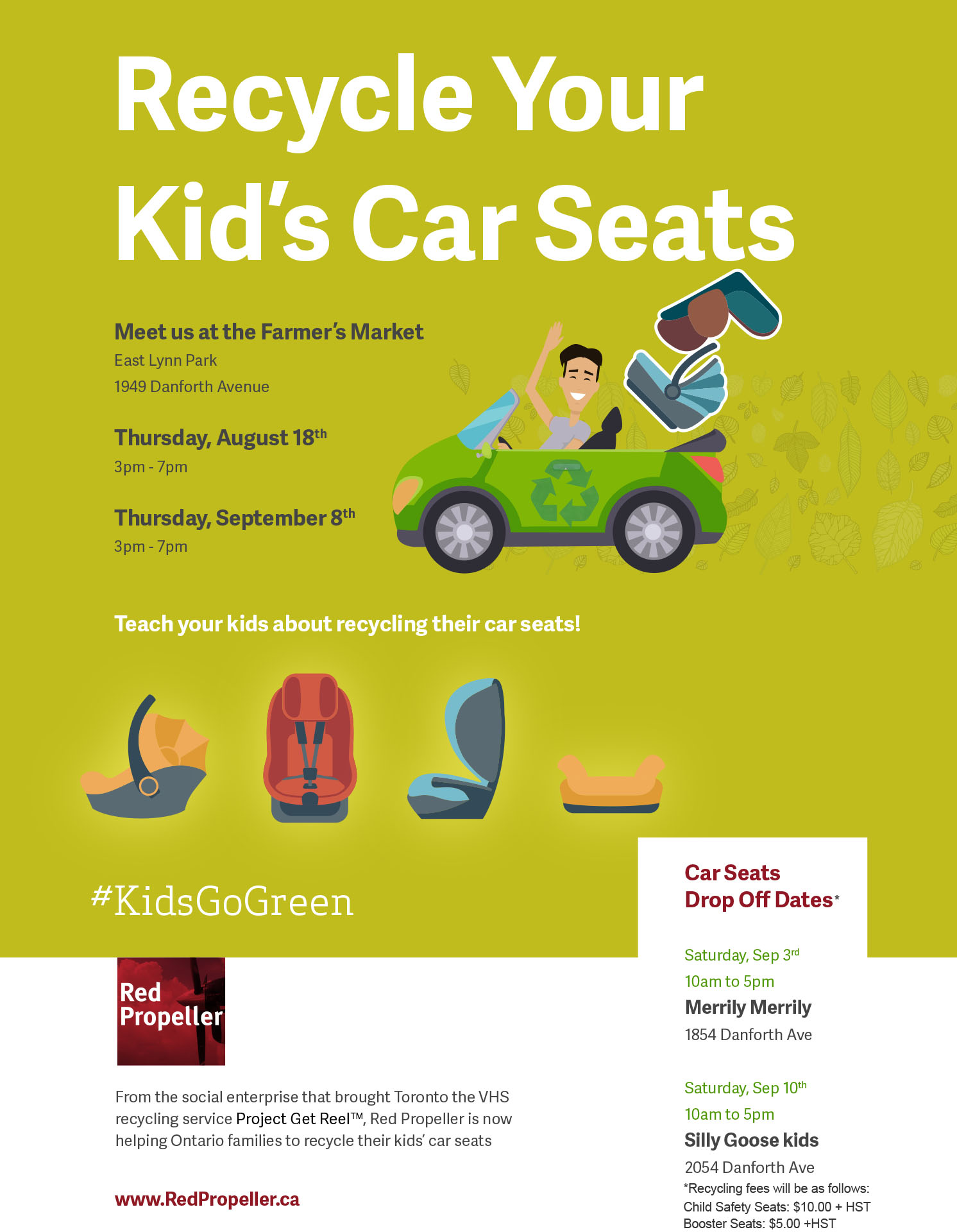 RecycleCarSeat Poster_letter