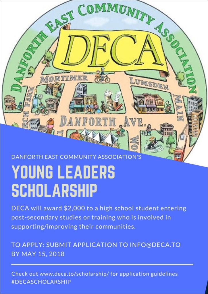 Scholarhship poster